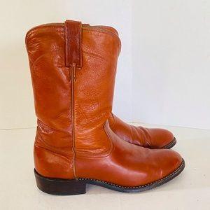 Dan Post Kangaroo Leather Boots sz 8 1/2
